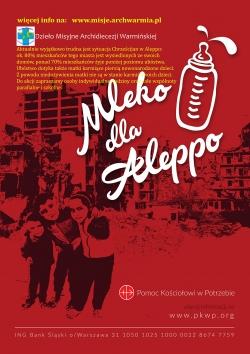 Mleko dla Alelppo plakat DMAW mp